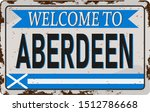 Retro Welcome To Aberdeen...