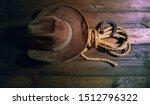 steel classic horseshoe cowboy... | Shutterstock . vector #1512796322