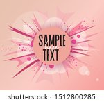 vector illustration of abstract ... | Shutterstock .eps vector #1512800285