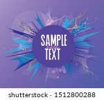 vector illustration of abstract ... | Shutterstock .eps vector #1512800288