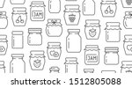 jam seamless pattern with... | Shutterstock .eps vector #1512805088
