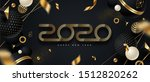 2020 new year logo. greeting... | Shutterstock .eps vector #1512820262