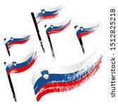 set of national symbols  ...   Shutterstock .eps vector #1512825218