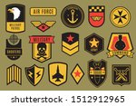 military badges. usa army... | Shutterstock . vector #1512912965