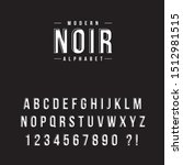 Vector Font. Alphabet And...