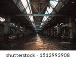 Ruined And Abandoned Industrial ...