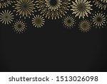 vector dark background with... | Shutterstock .eps vector #1513026098