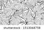 foliage seamless pattern ...   Shutterstock .eps vector #1513068758