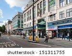 london   sep 12  oxford street... | Shutterstock . vector #151311755