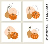 vector set of square cards with ...   Shutterstock .eps vector #1513202555
