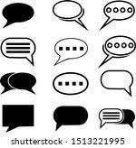 chat  speech  bubble  dialogue...