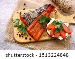 Smoked Red Fish With Herbs And...