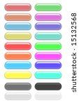 color gel buttons   Shutterstock . vector #15132568
