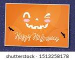 happy halloween banner ...   Shutterstock .eps vector #1513258178