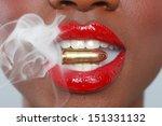 african american woman   Shutterstock . vector #151331132