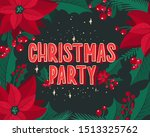 christmas and new year...   Shutterstock .eps vector #1513325762