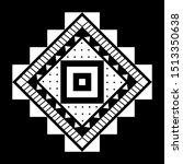 aztec vector element  ethnic... | Shutterstock .eps vector #1513350638