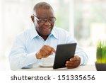 Cheerful Senior African...