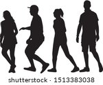 group of people. crowd of... | Shutterstock .eps vector #1513383038