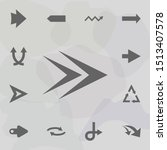 arrow  forward icon. universal...