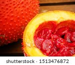 cochinchin gourd melon asian... | Shutterstock . vector #1513476872