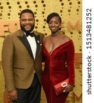 Small photo of LOS ANGELES - SEP 22: Anthony Anderson, Alvina Anderson at the Primetime Emmy Awards - Arrivals at the Microsoft Theater on September 22, 2019 in Los Angeles, CA
