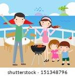 family time | Shutterstock .eps vector #151348796