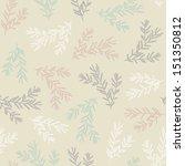 seamless light pattern with... | Shutterstock . vector #151350812