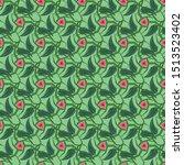 seamless vector pattern of... | Shutterstock .eps vector #1513523402