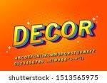 comics style font design ... | Shutterstock .eps vector #1513565975
