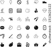 health vector icon set such as  ...