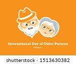 international day of older... | Shutterstock .eps vector #1513630382