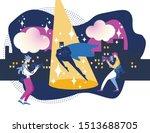 blockbuster celebrity man in... | Shutterstock .eps vector #1513688705