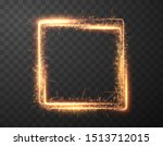 sparkler frame  great design... | Shutterstock .eps vector #1513712015