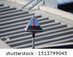 A Reflective Pyramid Shape...