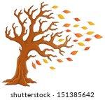 autumn tree theme image 1  ...
