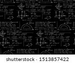 math equations and formulas on... | Shutterstock .eps vector #1513857422