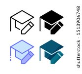 educational edit icon. with...