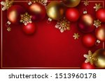 christmas and new year design.... | Shutterstock .eps vector #1513960178