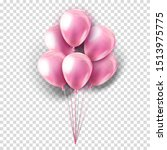 Vector Pink Realistic...
