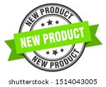 new product label. new product... | Shutterstock .eps vector #1514043005