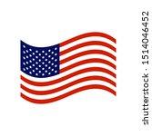 united states of america flag... | Shutterstock .eps vector #1514046452