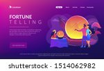 magical divination and... | Shutterstock .eps vector #1514062982