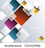 squares. abstract background.... | Shutterstock .eps vector #151415966