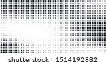 abstract halftone vector... | Shutterstock .eps vector #1514192882