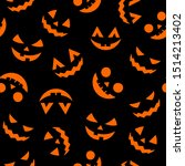 halloween decorative seamless... | Shutterstock .eps vector #1514213402