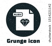 grunge ruby file document.... | Shutterstock .eps vector #1514221142