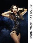 young striptease dancer | Shutterstock . vector #151422212
