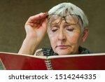 Older Woman With Visi N...