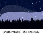 night nature astronomy vector...   Shutterstock .eps vector #1514283032
